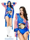 E3 Ladies Knockout Boxer Sports Boxing Champion Fancy Dress Up Costume