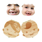 1Pc Kids Boy&Girl Tooth Box Wood Storage Organizer Baby Save Milk Teeth Collect