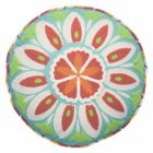 Wild Card Embroidered Round Kids Decorative Pillow by Waverly image