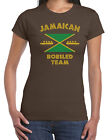 394 Jamaican Bobsled Team womens t-shirt costume funny 90s movie rasta reggae