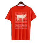 Oh My God Pig Shane Dawson What's Up Guys Humor Men's Cotton Funny T Shirt Tee