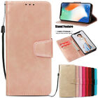 For Iphone X Xs Max 5 6 7 8 + Pu Leather Wallet Case Cover Card Slots Flip Stand
