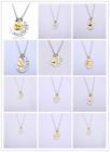 Family Heart shape Necklace Pendant For Women Men I Love You To The Moon & Back