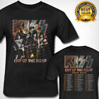 Kiss Band End of The Road Tour 2019 T-SHIRT S-3XL Black Men's Clothing image