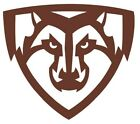 ncaa0541 St. Bonaventure Bonnies Mascot Die Cut Vinyl Graphic Decal Sticker NCAA