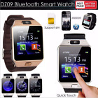 DZ09 Blue-tooth Smart Watch Camera Phone GSM SIM For Android Samsung IOS i Phone
