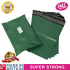 Premium Strong OLIVE GREEN Mailing Postal Poly Pack Postage Bags UK ALL SIZES