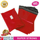 Premium Strong RED Plastic Mailing Postal Poly Pack Postage Bags UK ALL SIZES