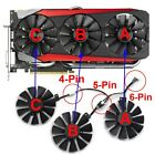 T129215SU Cooler Fan For ASUS STRIX GTX 980TI RX480/580 R9 390X/R9 390 GTX 1060 for sale  Shipping to Canada