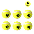 Small Bite Mini Tennis Balls - Small Dog & Puppy Mini Ball 6/4 Pack 6cm #HD3