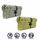 40/50 (35/10/45) Anti Snap Euro Cylinder Door Barrel Lock uPVC Aluminium Timber✔