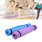 4 mm Thick Yoga Mat Non-slip Durable Exercise Fitness Gym Mat Lose Weight Pad