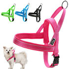 Reflective Stitching Nylon No Pull Pet Dog Harness for Small Xsmall Dogs Pink