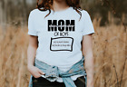 Personalized Mom of Boys T-Shirt Womens S M L XL Mother Kids Names Funny gift
