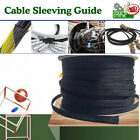 FLEXABLE BRAID EXPANDABLE SLEEVE WIRING HARNESS LOOM WIRE COVERING PROTECTOR LOT
