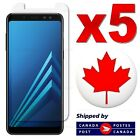 Premium Tempered Glass Screen Protector For Samsung Galaxy A8 2018 (5 PACK)