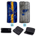 St. Louis Blues Leather Wallet Purse Zipper Clutch Woman Handbag $16.99 USD on eBay