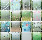 window frosted glass for bathroom window self-adhesive paper for bathroom