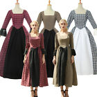 Pioneer Colonial Women Prairie Dress Renaissance Reenactment Civil War Costume