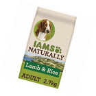 Iams Naturally Dog Food with New Zealand Lamb and Rice, Complete and Balanced Na