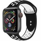 Replacement Silicone Sport Band 38mm 42mm For Nike+ Apple Watch Series 1 2 3 4Wristwatch Bands - 98624
