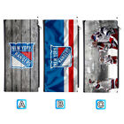 New York Rangers Leather 16 Slot Wallet Card ID Holder Purse $13.99 USD on eBay