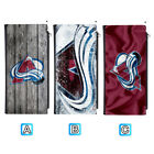 Colorado Avalanche Leather 16 Slot Wallet Card ID Holder Purse $13.99 USD on eBay