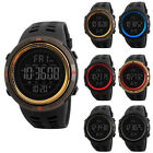 SKMEI Men's Digital Smart Watch Waterproof Pedometer Photography Sport Reminder image