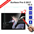 2Pcs Tempered Glass Screen Protector for Microsoft Surface Pro 6 2018 12.3''Inch