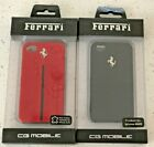 Ferrari Official Licensed Case for Iphone 4,4S- Real Leather Hardcase