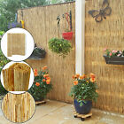 4m Natural Reed Screening Roll Peeled Garden Privacy Fence Panel