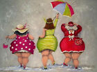 Hand Painted Canvas Oil Painting Wall Art Figure 58