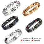 Therapeutic Energy Healing Bracelet Stainless Steel Therapy Magnetic Bracelet Us