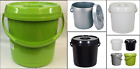 14L Baby Nappy Bucket With Lid & Handle Pet Food Storage Container Kitchen Bin