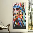 Abstract Indian Woman Canvas Oil Painting Print Picture Home Wall Art Decor