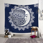 Sun and Moon Face Tapestry Wall Hanging Mandala Blanket Throw Home Dorm Decor