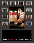 The Life Of David Gale replica Film Cell Presentation 10x8 Mounted 10 cells