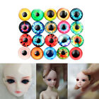 20pc 10MM/16MM/20MM DIY Glass Eyes Kit For Needle Sewing Felting Bear Doll Craft