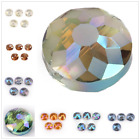 2 Style Frosted Glass DIY Jewelry Making Bead Faceted Crystal Beads 14mm 18mm