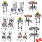 Mosaic Side/End Table Plant Table Flower Stand Stool Balcony Wedding DiningChair