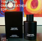 TOM FORD OMBRE LEATHER EDP 1, 2, 3, 5, 7  & 10ML SPRAY 100% AUTHENTIC