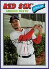 Mookie Betts Boston Red Sox (choose your card) on Ebay