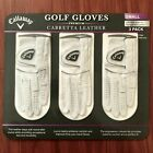 CALLAWAY GOLF GLOVES PREMIUM CABRETTA LEATHER 3 PACK FOR LEFT HAND - Select Size