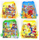 Pokemon Go children Non-woven drawstring bag Kids Children Gift AAA
