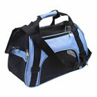 Pet Carrier Soft Sided Small Large Cat Dog Comfort Blue Travel Bag Approved 2019