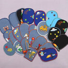 Denim Iron on Patch Cartoon Badge Children Clothes Appliques Hole Repair Emblems $0.99 USD on eBay
