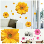 Waterproof Daisy Flower Wall Stickers Decal Self Adhesive Home Living Room Decor