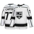 Jeff Carter Los Angeles Kings NHL Adidas Mens White Authentic On Ice Pro Jersey