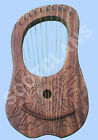 Lyre Harps  10 Metal Strings various Designs with carrying Soft case