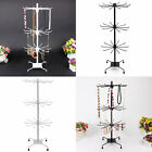 New Jewelry Display Keyring Display Rotating Iron 3tier Revolving Stand Rack